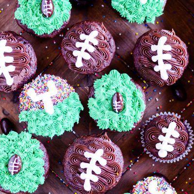 Best 25 Football Cupcakes Ideas Only On Pinterest