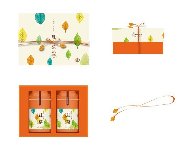 DW達非設計企劃: [和菓森林]企業認養紅茶/禮盒包裝設計