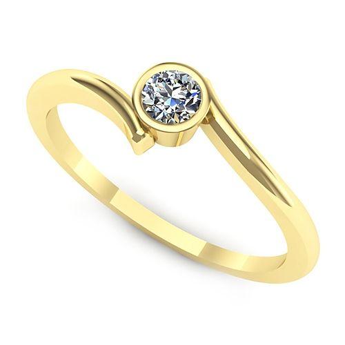 Inel logodna L11GDI Inel cu diamant
