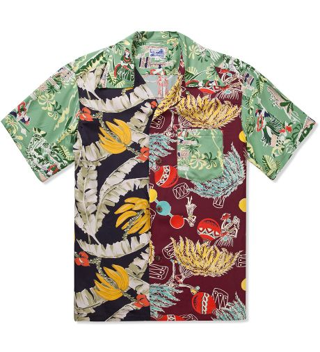 Crazy O. Crazy Rayon Aloha Shirt