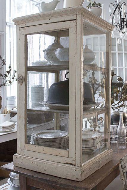 Display cabinet.