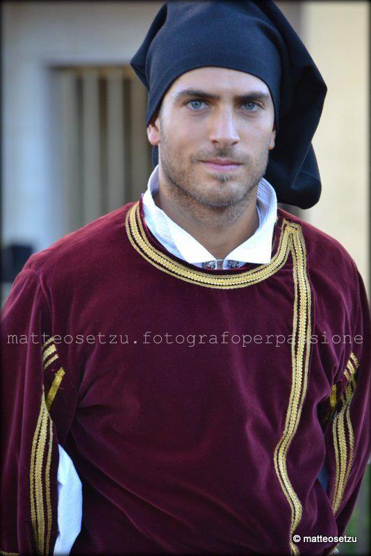 Matteo Setzu, photographer, costume di Sennori