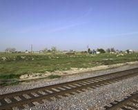 Allensworth Train Tracks