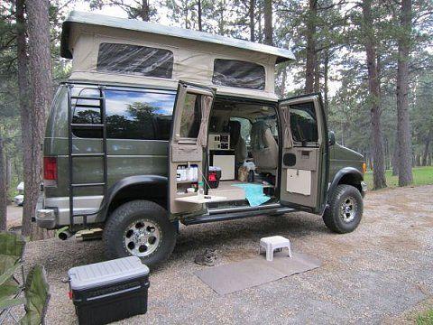 craigslist 4x4 vans for sale e350 5 4l efi v8 4x4 sportsmobile camper van for sale. Black Bedroom Furniture Sets. Home Design Ideas