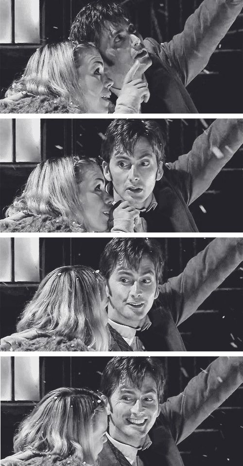 "This scene, I still love it. Because he points out a star, and she says ""that way."" And he just looks at her, gazing up, realizing how happy he his. How happy his is to be with her."