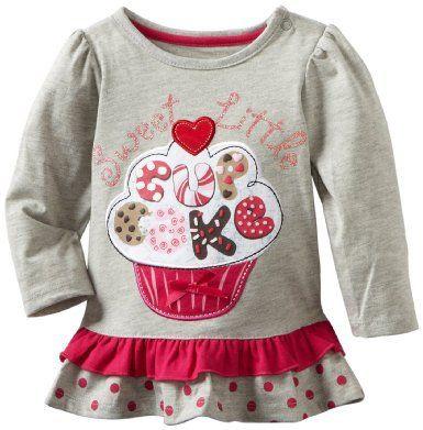 Marca al por menor 100% algodón de primavera para niños bebés arropa las camisetas de los niños de la blusa de manga larga camisetas Cartoon vestido ocasional lindo en Camisetas Tees de Bebés en AliExpress.com | Alibaba Group