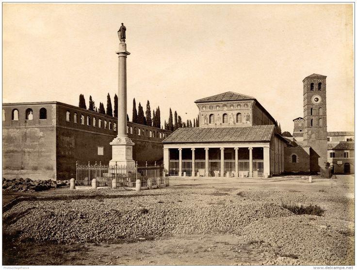 Basilica di San Lorenzo fuori le mura  1880