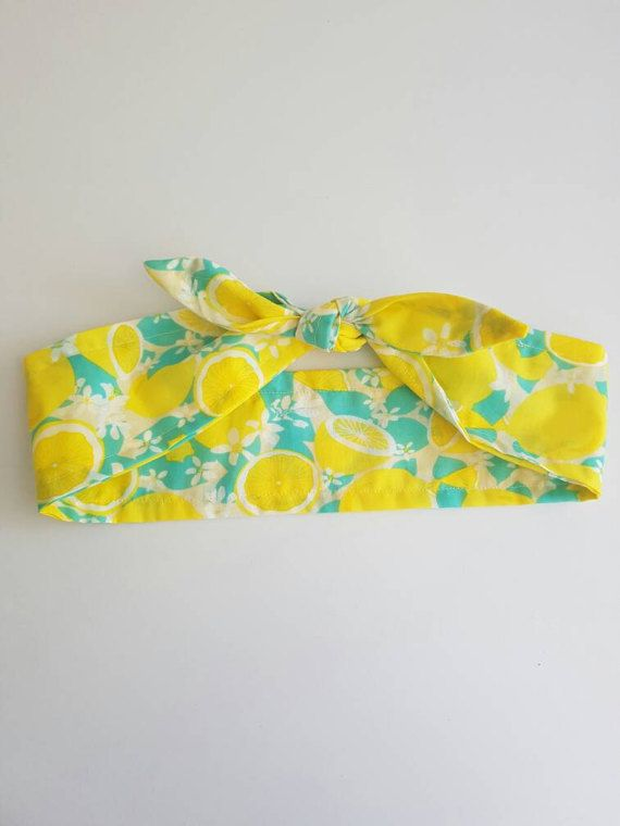 Check out this item in my Etsy shop https://www.etsy.com/au/listing/509636325/lemon-headband-top-knot-headband-tie-up