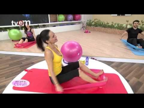 Ebru Şallı İle Pilates Egzersizleri 24.Bölüm - YouTube