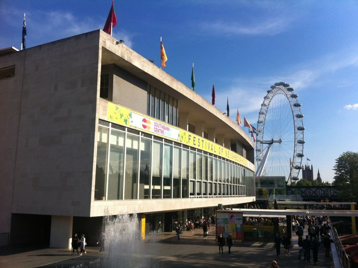 Walk along The Southbank to the Royal Festival Hall in London, Greater London