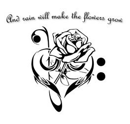Tattoo design inspired by Les Miserables... need this for my 18th!