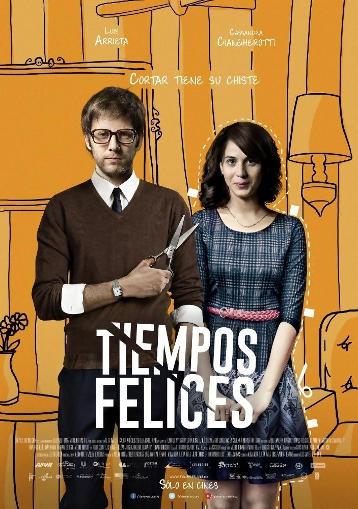 Tiempos Felices (English: Happy Times) is a 2014 Mexican romance-comedy film written by Luis Javier M. Henaine and Alejandra Olvera Avila and directed by Luis Javier M. Henaine. It stars Luis Arrieta, Cassandra Ciangherotti, Humberto Busto, Iván Arana, Barbara De Regil, Miguel Rodarte, J.C. Montes-Roldan and Jorge Caballero. Plot: A young man who is unable to break up with his girlfriend decides to hire an agency that specializes in ending relationships.