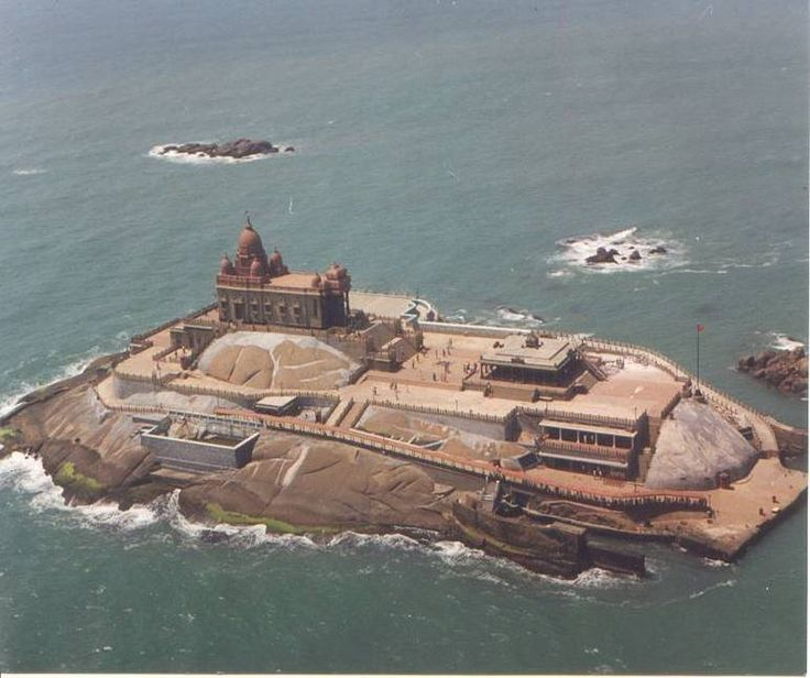 #Kanyakumari, #India.  Kanyakumari, formerly known as Cape Comorin, is a town in Kanyakumari District in the state of Tamil Nadu in India. Kanyakumari lies at the southernmost tip of mainland India