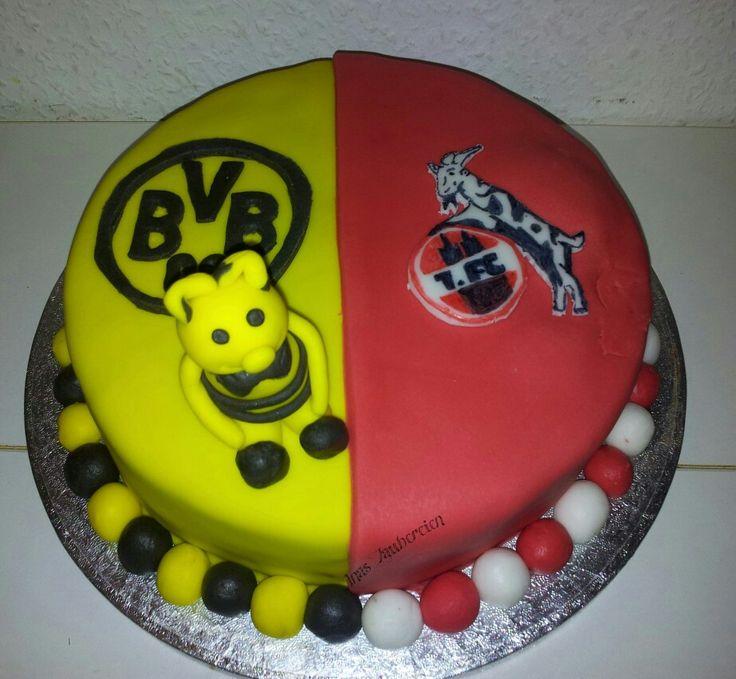 Cool Fc K ln BVB Torte