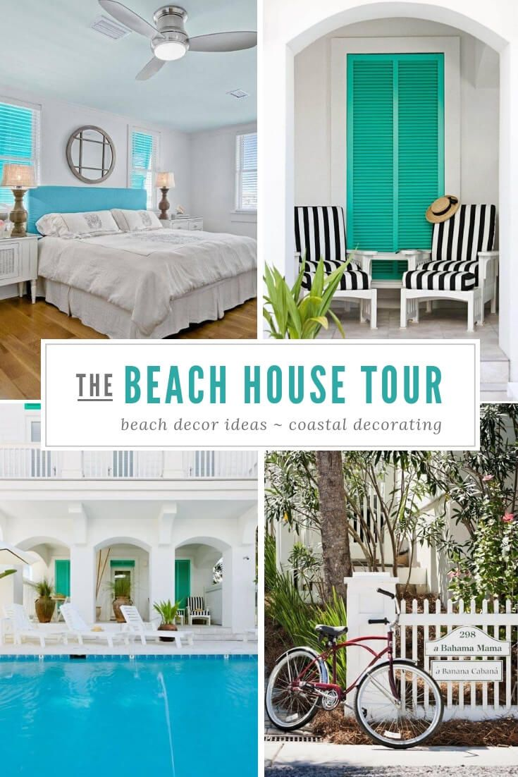 carillon beach florida beach decor sugarsbeach blog beach house rh pinterest com