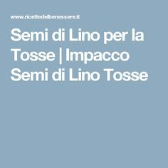 Semi di Lino per la Tosse | Impacco Semi di Lino Tosse