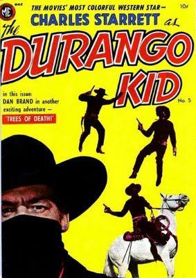 Charles Starrett As The Durango Kidphoto Cover Interior Art