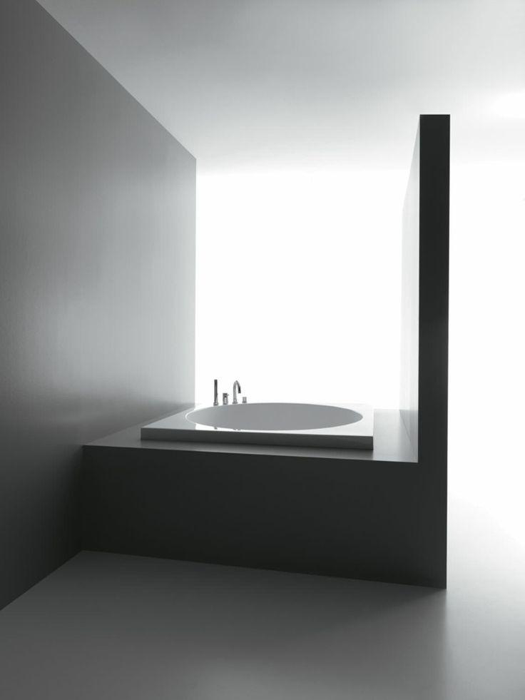 mini baignoire carrée