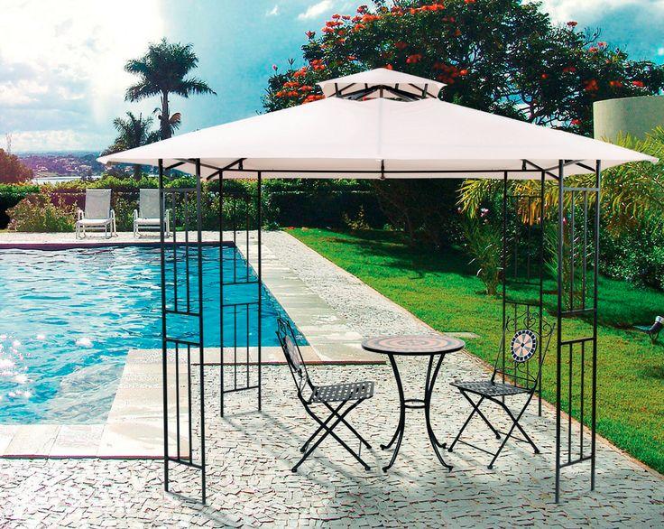 Después de un rico chapuzón, relájate a la sombra en tu #terraza. #balcones #easytienda #tiendaeasy #Terrazas2016 #Easy