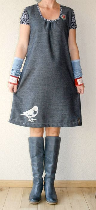 "dress pattern ""VIELAND"""