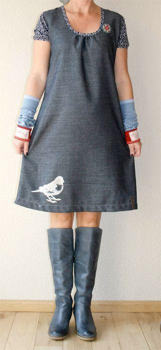 Schnittmuster Kleid, Damenmode, Schnittreif, farbenmix