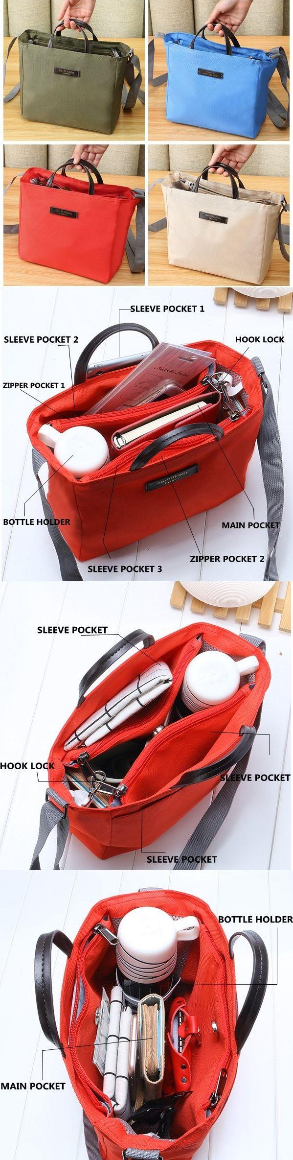 Ekphero Multifunctional Waterproof Oxford Cloth Light Outdoor Travel Handbag Shoulder Storage Bag