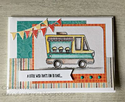 Caring for Stamps: Spring/ Summer Catalog Countdown #18: Stampin' Up! ~ Tasty Trucks