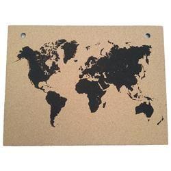 innova Shop - Kork verdenkort
