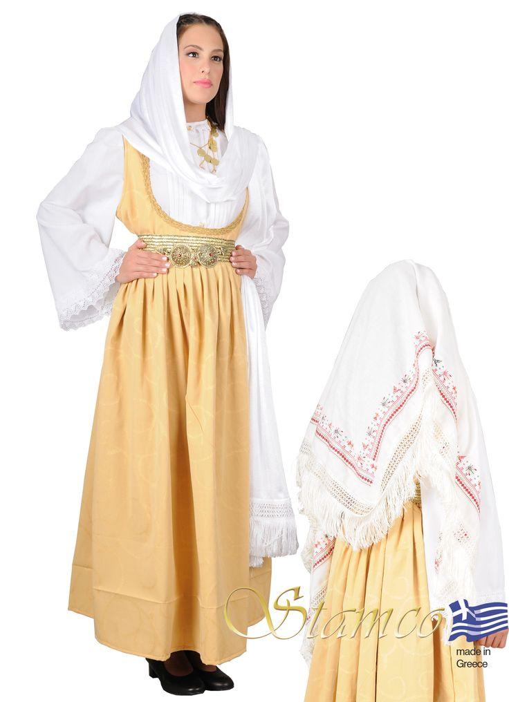 Samos Greek costumes for women, Greek traditional costume  aegean Islands,cyclades SAMOS ISLAND