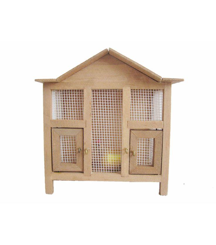 Fairy Garden Wooden Chicken Coop