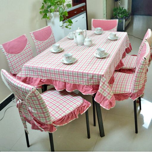 Modern Brief Cotton Plaid Table Cloth Dining Table Cloth Chair Cover Table  Cloth Round Table Cloth Customize