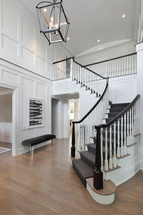 Au Foyer Décor Valenciennes : Image result for dark grey wainscoting board and batten