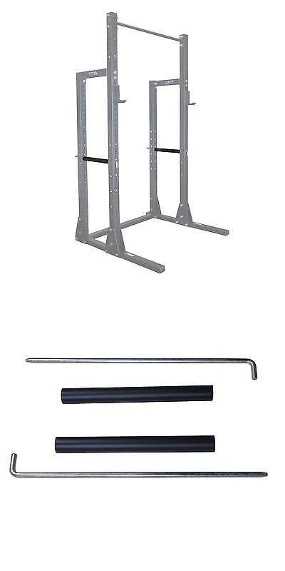 Other Strength Training 28067: Titan Half Rack Pin Pipe Safety Bars For X-3 Half Rack -> BUY IT NOW ONLY: $30 on eBay!