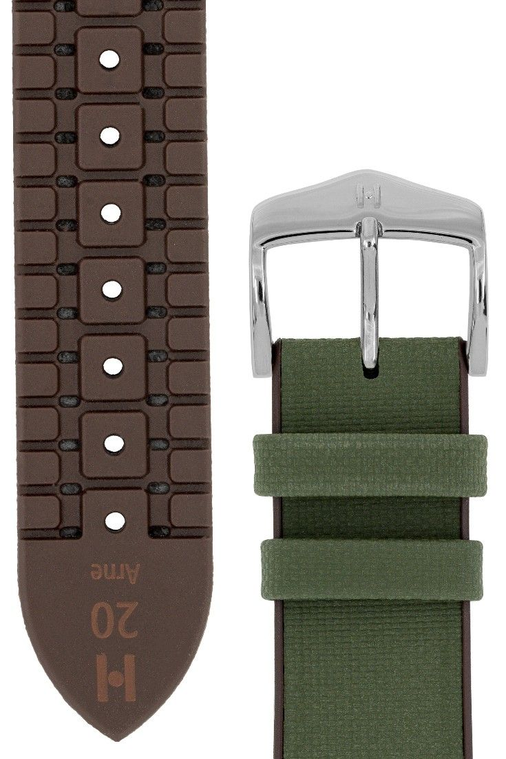 7a042a8ee Evoking the great outdoors, the Arne performance watch strap comes in a  range of earthen