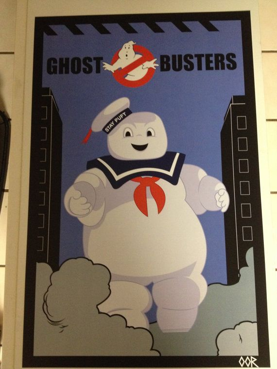 Ghostbusters Stay Puft Marshmallow Man movie by EscapeCapsule