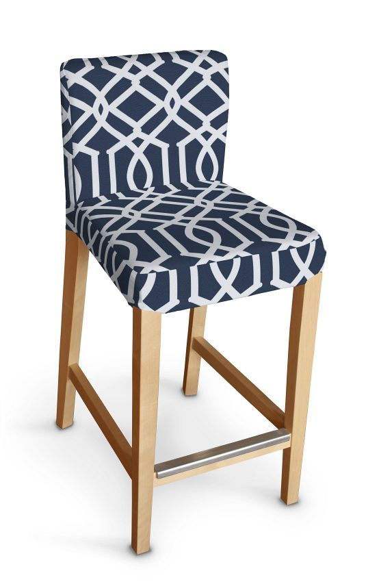 Henriksdal bar stool cover in collection Comic Book Prints, fabric: 135-10