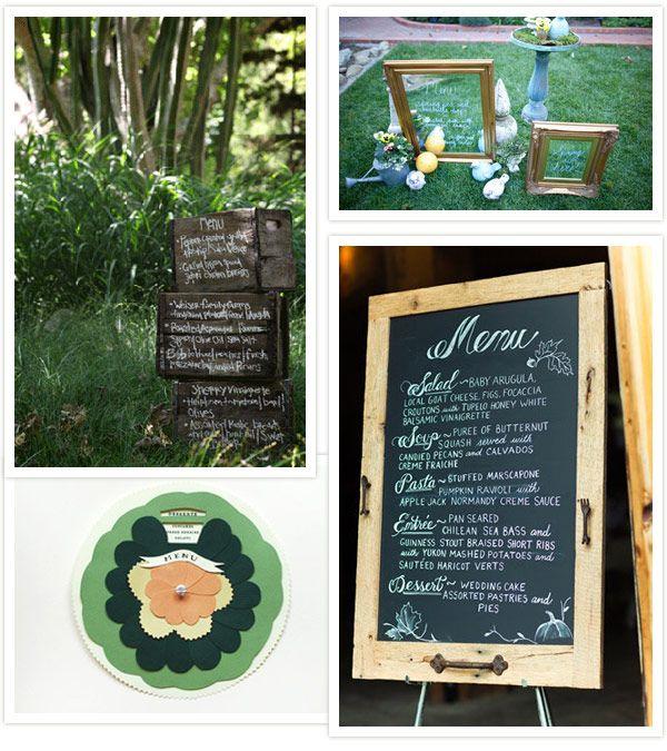 Diy Wedding Food Menu Ideas: 1000+ Ideas About Wedding Menu Display On Pinterest