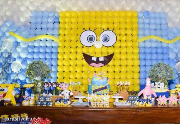 Festa Bob Esponja: 35 ideias divertidas para o aniversário do seu filho!