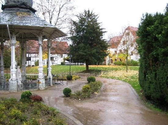 Bad Soden Germany - Quellenpark.  played here all the time!!