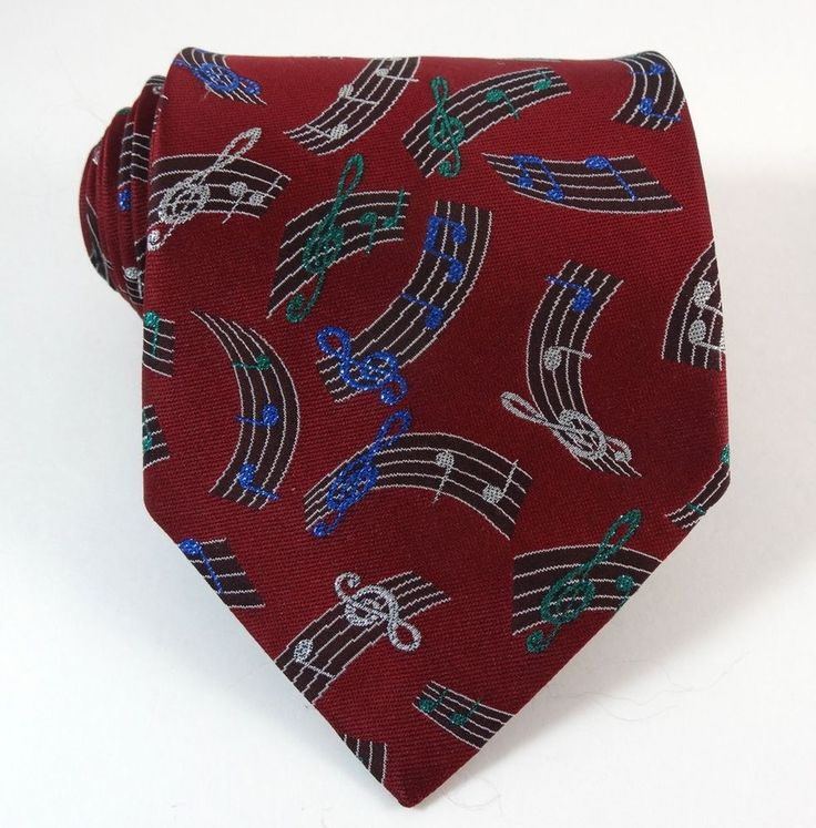 Great tie for a musical performance! Sparkly Music Note Musician Teacher Necktie | The Tie Chest