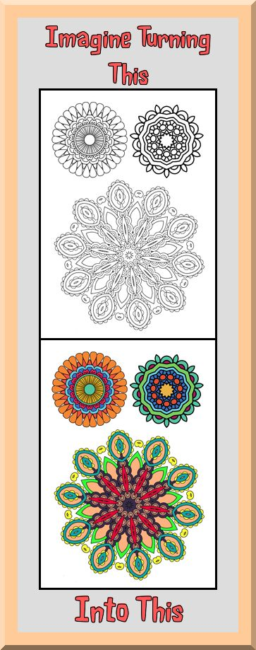 You Can Print These Mandala Coloring Pages As Many Times Want Which Means Never Have To Worry About Them Perfectly On Your First Try