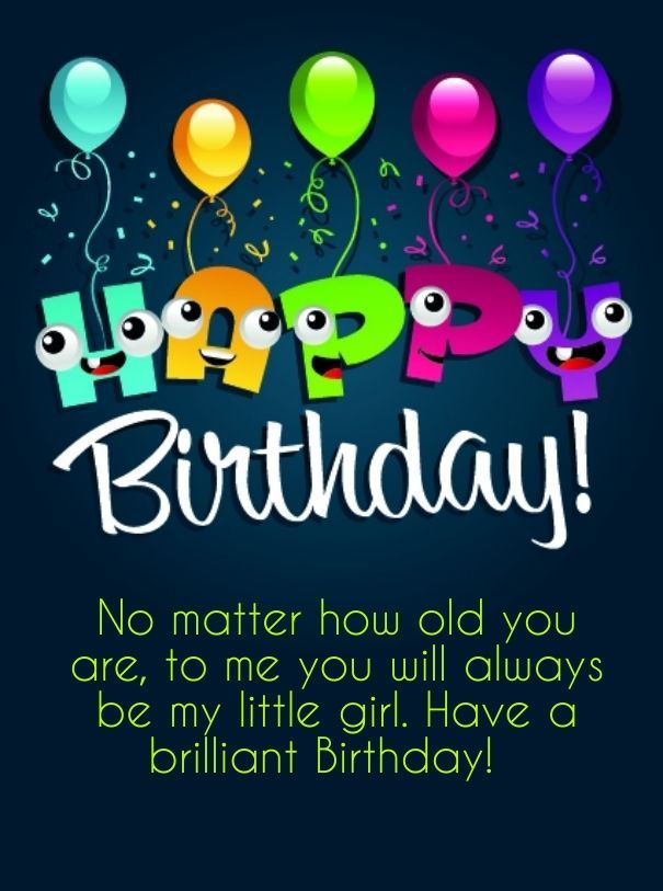 Happy Birthday Daughter - Birthday Wishes, Greetings, Lines, Sayings And Cards