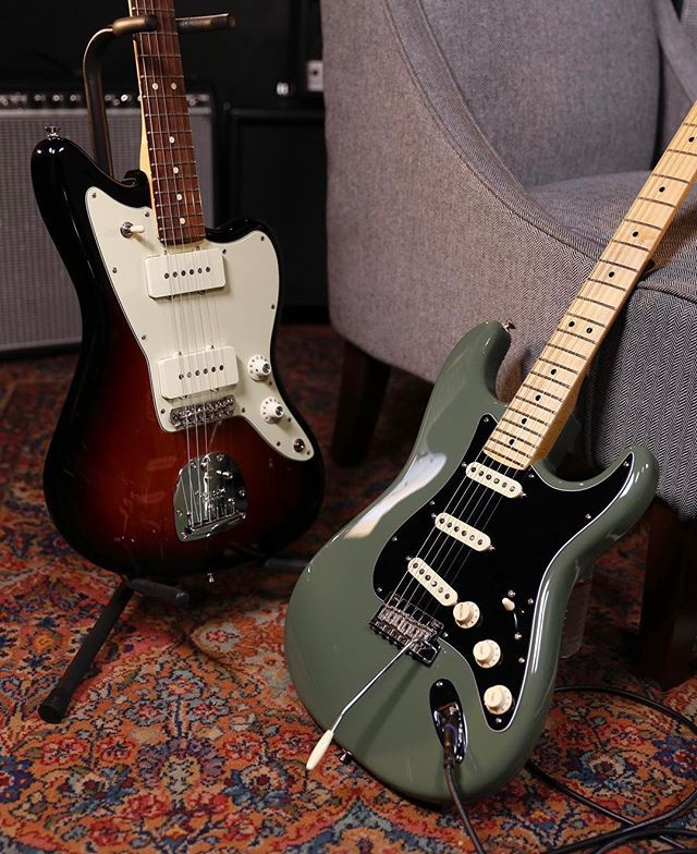 Brand new colors. Updated specs. Your newest obsession. Fender American Professional Series guitars |#guitarcenter #fender #fenderguitars #guitars #american #professional #telecaster #tele #jazzmaster #jazz #strat #stratocaster #new #newgearday #ngd #guitar #live #facebook #livestream #2017 #musician #guitarist #music #love #beautiful