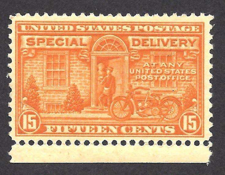 US E13 15c SPECIAL DELIVERY 192