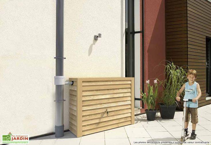 récupérateur eau de pluie design