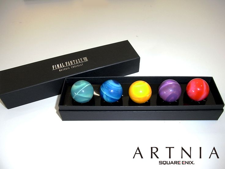 Final Fantasy Chocolates: The gift your gaming Valentine actually wants