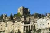 Le plus beau villages de Drôme: Montbrun les Bains!