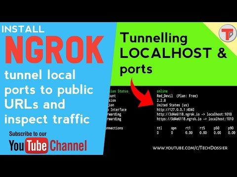 Termux 11: Install ngrok with authtoken | url forwarding