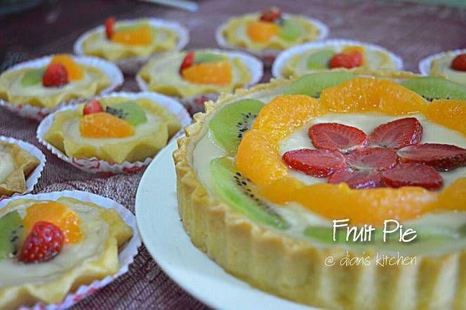 Resep Fruit Pie Pie Buah Ala Ncc Anti Gagal Oleh Dian S Kitchen Resep Makanan Hidangan Penutup Resep