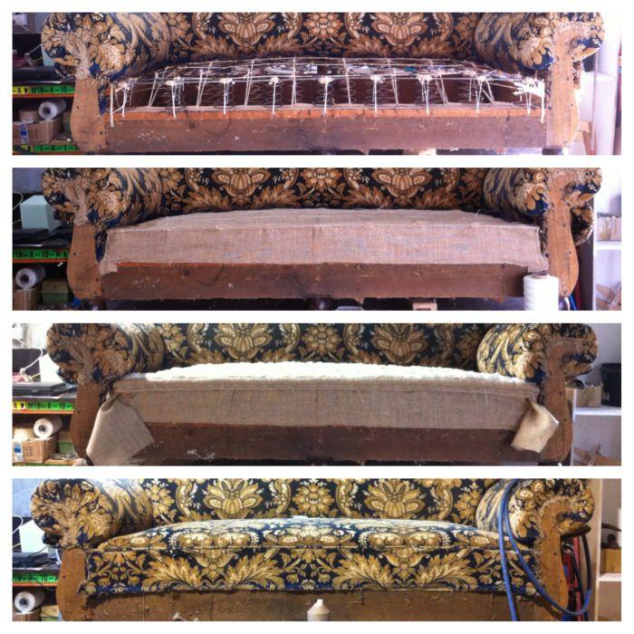 Traditional seat restoration